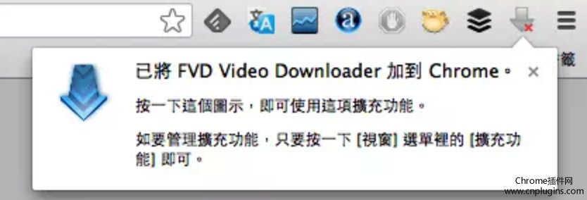 FVD Video Downloader插件使用方法