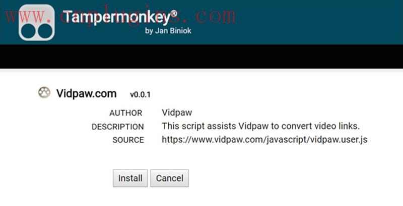安卓VidPaw浏览器插件