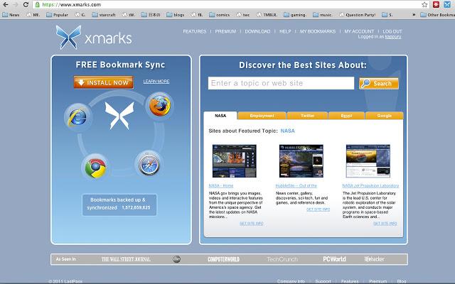 xmark多浏览器同步插件
