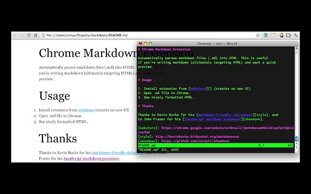 markdown preview plus chrome插件圖片