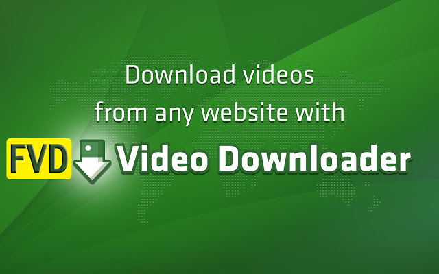 FVD Video Downloader插件简介