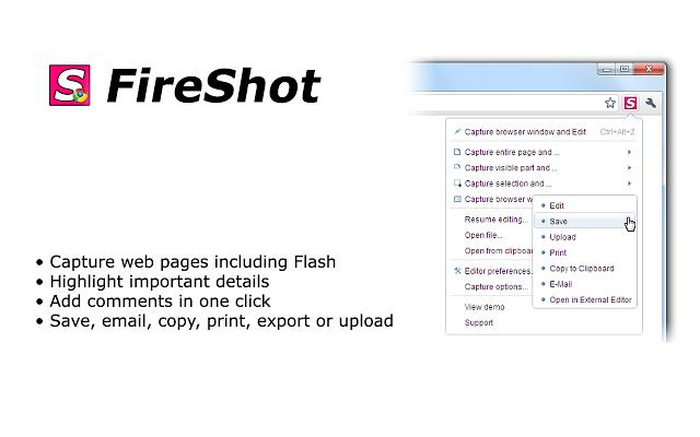 fireshot标志按钮