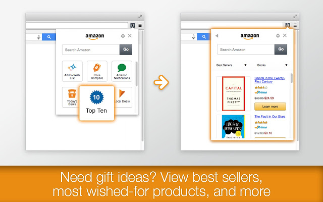 Amazon 1Button App for Chrome插件图片