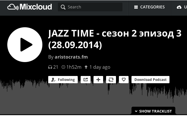 how to download from mixcloud chrome