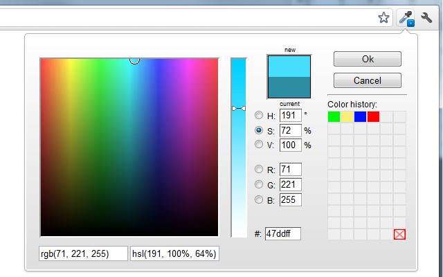 colorzilla取色