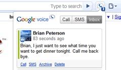 google voice语音信箱