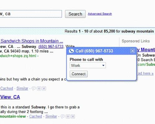 google voice直接拨打电话