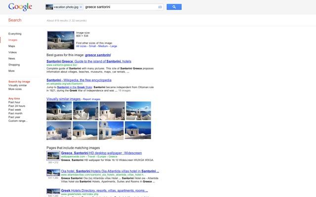 Search by Image(谷歌搜图)概述