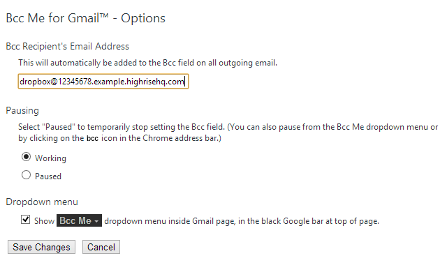 how to add bcc in gmail reply