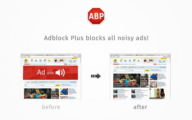 Adblock Plus Chrome插件图片