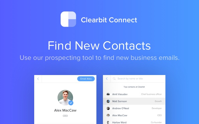Clearbit Connect