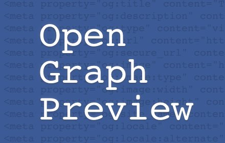 Open Graph Preview