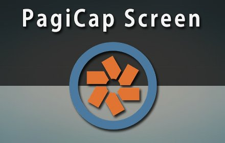 PagiCap Screen