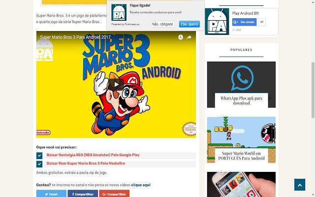 Play Android BR Chrome插件图片