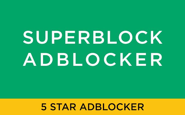 Superblock Extended - Adblocker Chrome插件图片