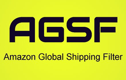 Amazon Global Shipping Filter v260.55