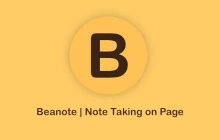 Beanote - Note Taking on Web Pages v1.2.1
