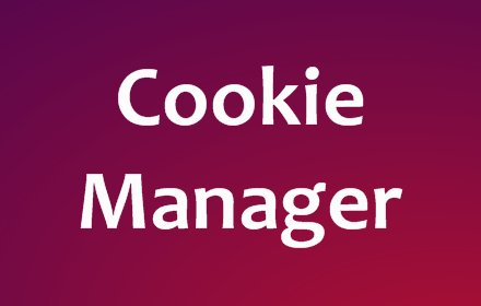 Cookie Manager v1.2