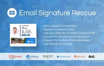 Email Signature Rescue v2.4.14