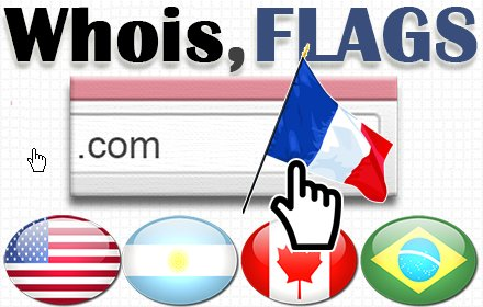IP Whois & Flags Chrome & Websites Rating v4.0