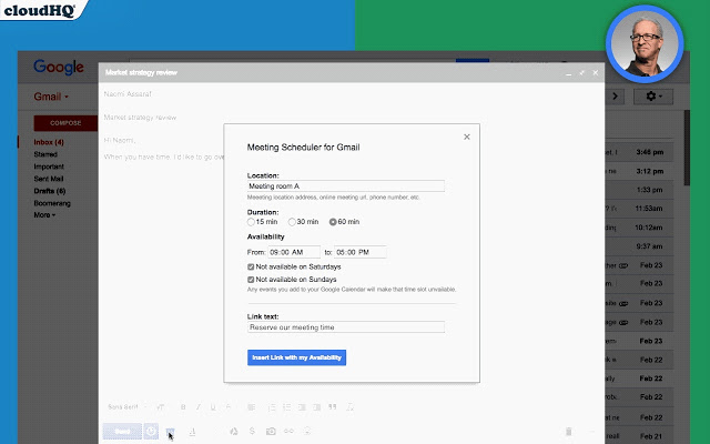 Meeting Scheduler for Gmail v1.0.0.8插件图片