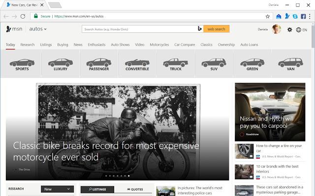 MSN 主页 Chrome插件图片