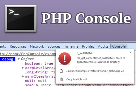PHP Console v3.0.38