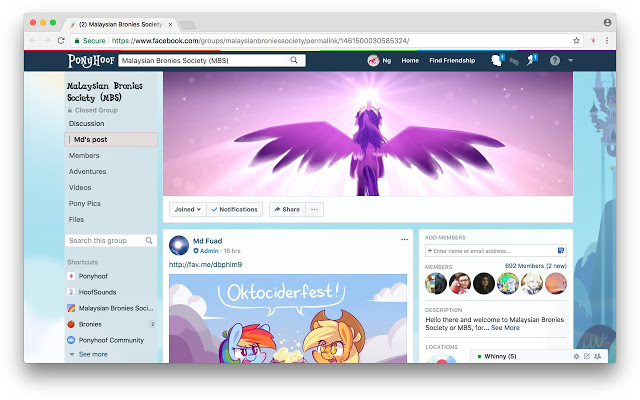 Ponyhoof v2.421 Chrome插件图片