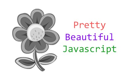 Pretty Beautiful Javascript v4.1.1