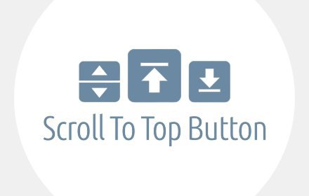 Scroll To Top Button v7.1.0