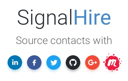 SignalHire - find email or phone number v2.5.0