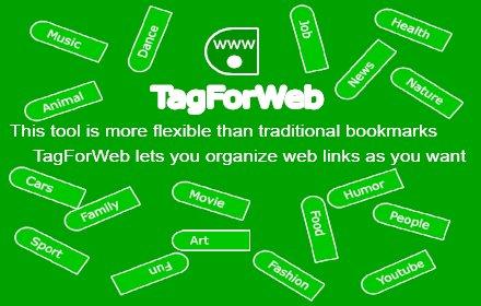 TagForWeb - Bookmarks with Tags v3.5.1 Chrome插件LOGO图片