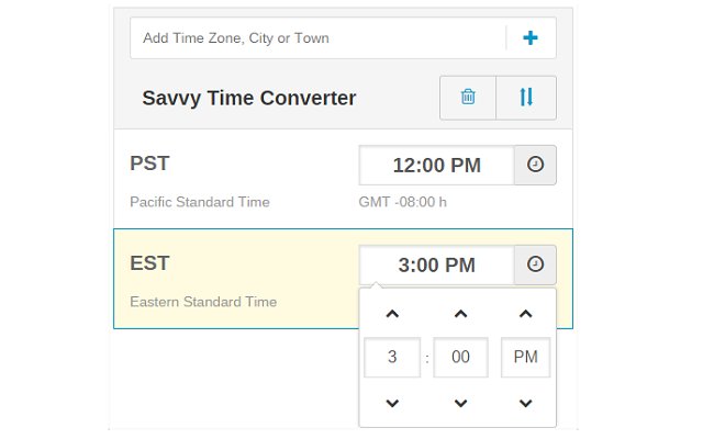 Time Zone Converter - Savvy Time v1.3.5插件图片