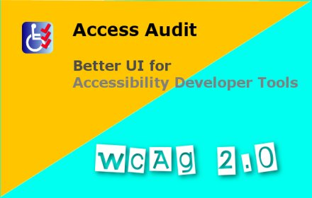 WCAG Accessibility Audit Developer UI v2.1.2.1