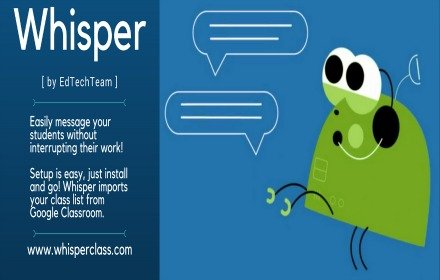 Whisper by EdTechTeam