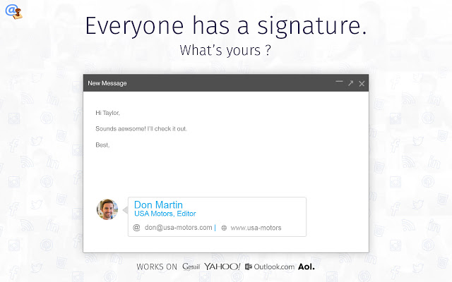 WiseStamp - Email Signatures for Gmail v4.30.10插件图片